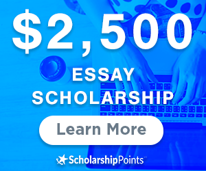essay based scholarship
