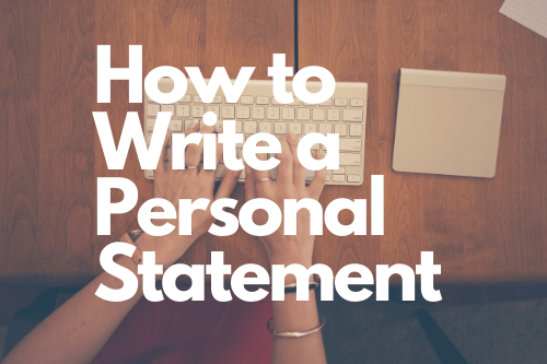 How to Write a Personal Statement Image